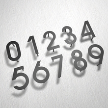 رقم لوحة معدنية حديثة من الحديد رقم البيت رقم باب الفندق رقم لوحة معدنية تسجيل 0 9