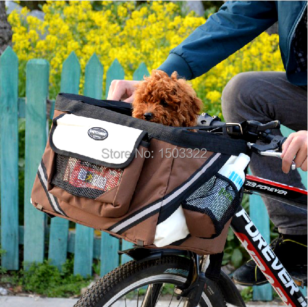 Pet Dog cat Puppy Bicycle Basket nests baskets for dogs dog pet <font><b>carriers</b></font> travel cycling outdoor <font><b>bike</b></font> part <font><b>accessories</b></font> image