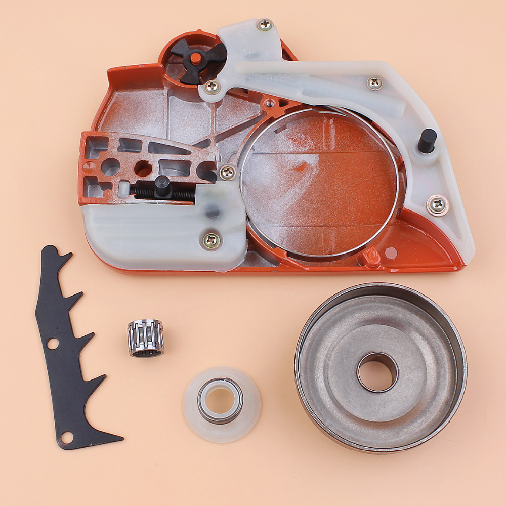 Clutch Chain Felling Drum Gear Replacement Husqvarna Saws Kit 445 450 Chainsaw Worm For Dog Brake Side 544097902 Cover