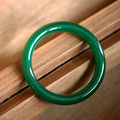 Hot Sale Natural Green agate Bangles Round Article fashion Women crystal bracelet jewelry gifts