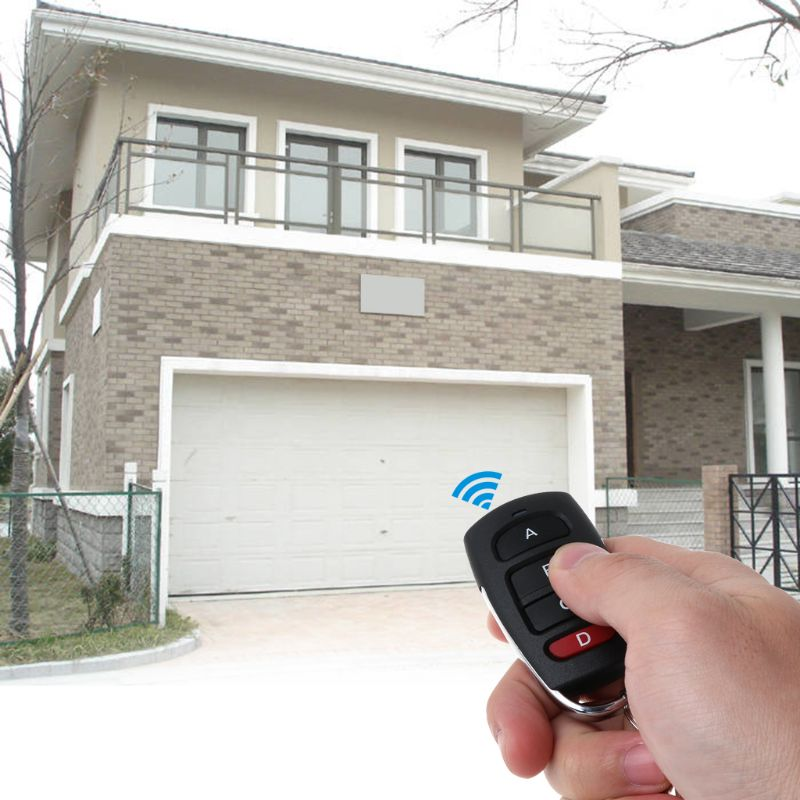 4 Button Clone Cloning Copy Code Car Key Duplicator 433MHz Wireless <font><b>Remote</b></font> Control for Electric Garage <font><b>Gate</b></font> Door <font><b>Opener</b></font> image