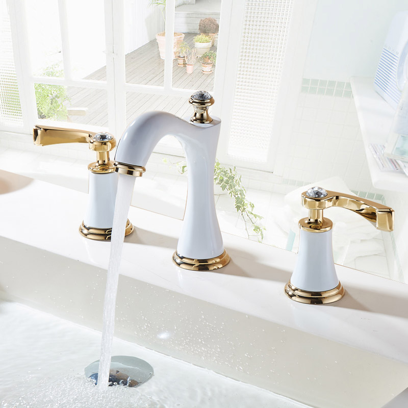 Sanjin кран горячей воды кран умывальник кран Европейский Ванная Комната, Туалет