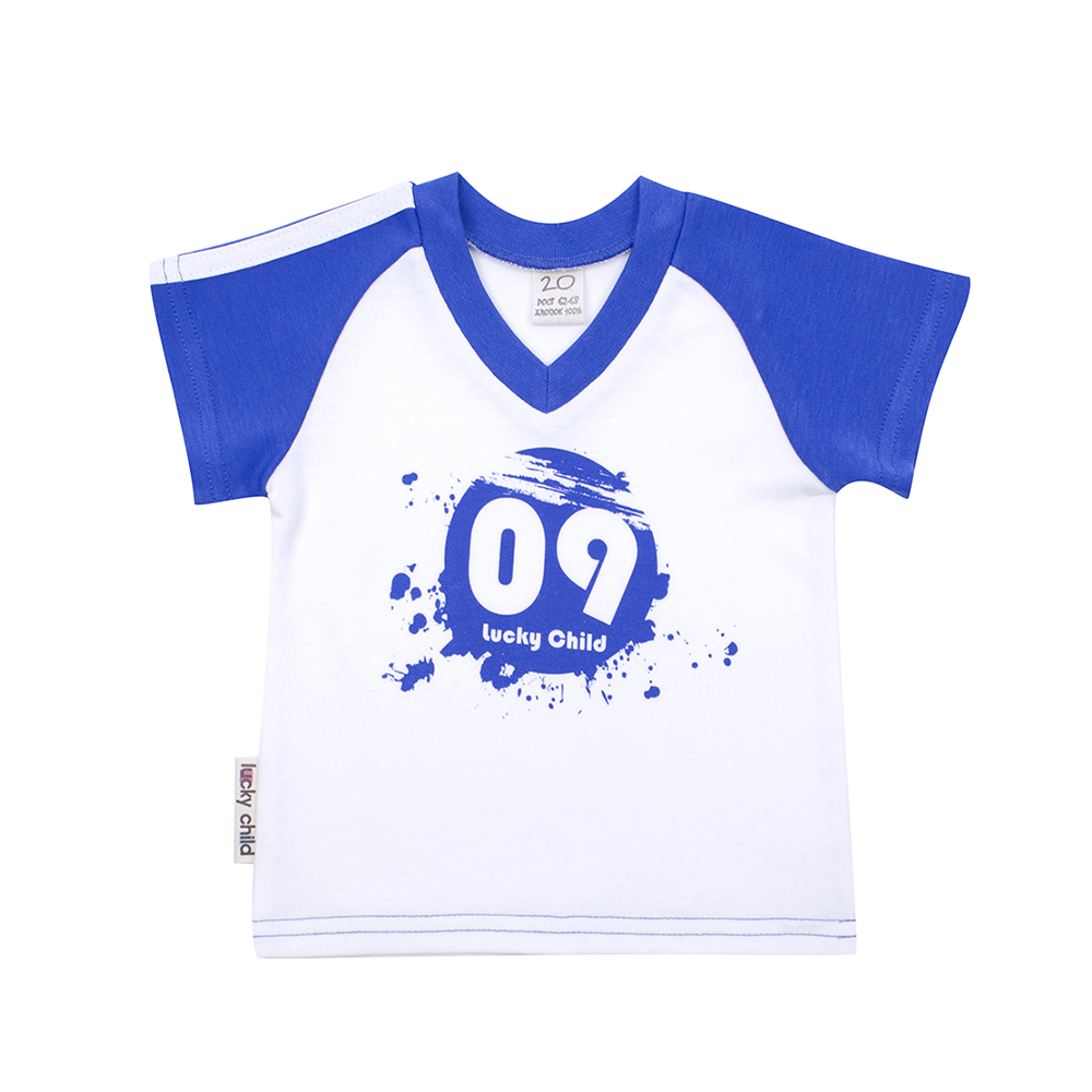 T-Shirts Lucky Child for boys 19-262 (24M-3T) T Shirt Children clothes