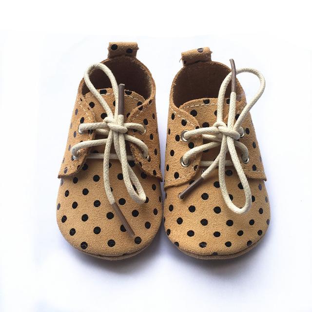 Zapatos nuevo diseño al por mayor de cuero suave mocasines bebé bebé zapatos de Bebé de cuero genuino Mocasines oxford
