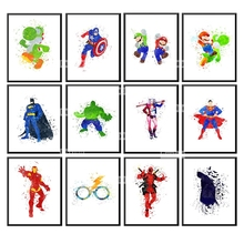 Craft Needlework Diy Cartoon Batman Diamond Painting Superman Ironman Embroidery Square Drill Mosaic Picture