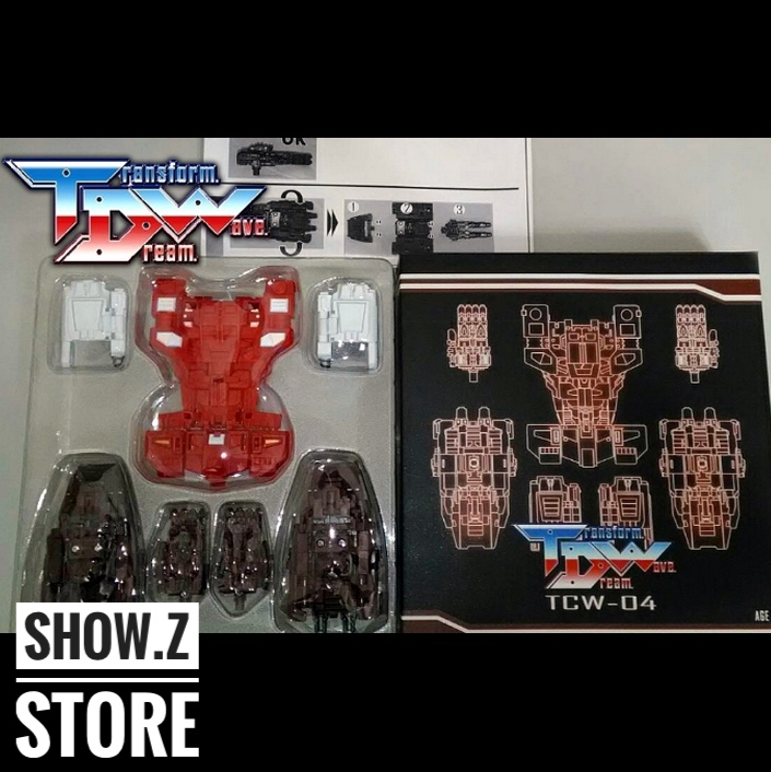 [Show.Z Store] Transformation Dream Wave TDW TCW-04 Computron Upgrade Kit Transformation Action Figure [show z store] g creation gdw 03 fuuma sixshot idw transformation action figure