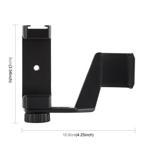 Image 3 - PULUZ Metal Phone Clamp Mount + Expansion Fixed Stand Bracket For DJI OSMO Pocket Handheld Gimbal Accessories