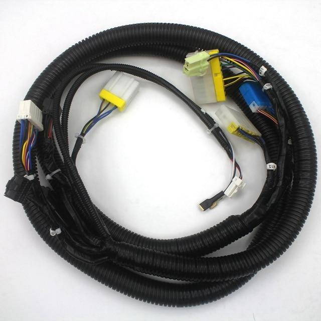 fits Komatsu PC300 7 Monitor Wiring Harness 208 06 71112 Excavator on