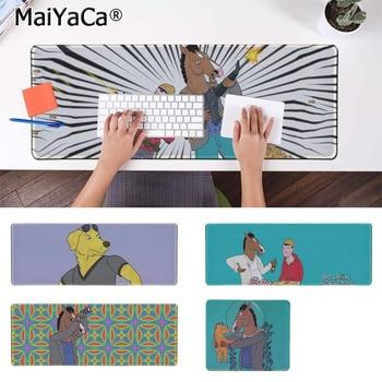 MaiYaCa Hot Sales BoJack Knight  Natural Rubber Gaming mousepad Desk Mat Free Shipping Large Mouse Pad Keyboards Mat
