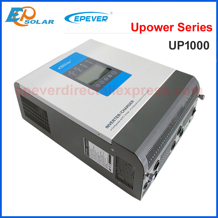 MPPT Solar 30A charger battery 24V controller,EPEVER power inverter charger hybrid 12V to 220V 230V Off grid tie system 1KVA epever power off tie inverter 24v 220v mppt hybrid solar inverter 2000va pure sine wave inverter 30a battery charger