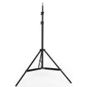 Image 3 - 2M(79in) fotografie Foto Studio Aluminium Legierung lampe Licht Stehen 1/4 Schraube Leichtes stativ für Godox Softbox Video Flash