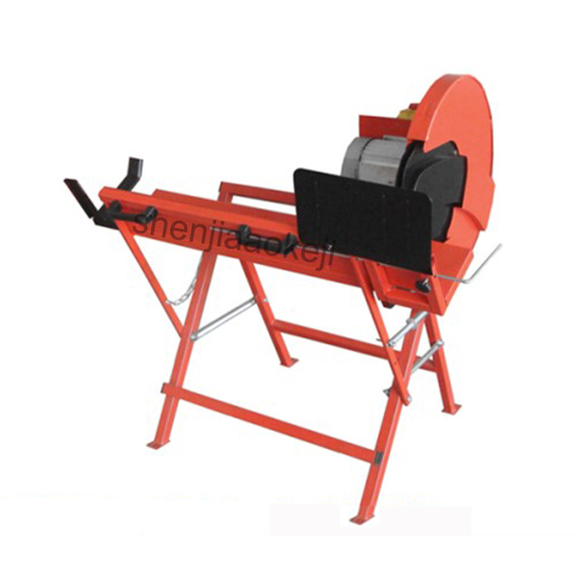 1pc LS400 Woodworking machinery cutter log cutter machine high power round wood sawing machine woodworking tool  230V 2000W