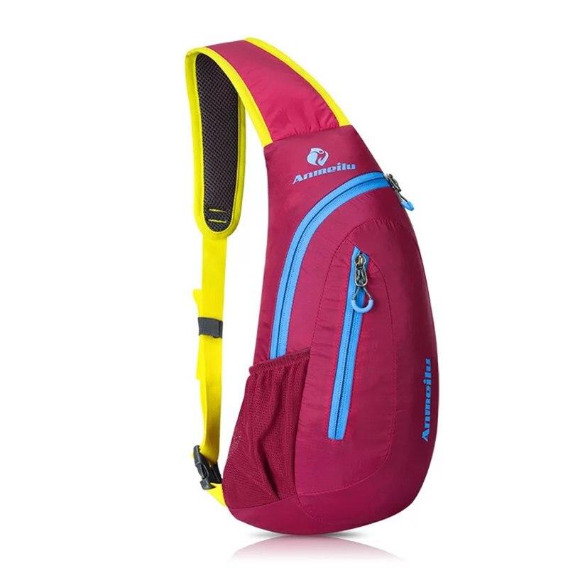 New Design Women Men Crossbody Bag Nylon Travel Male Unisex Waterproof Folding Cross Body Shoulder Belt Chest