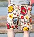 6 Стили мужская Шорты Мужские Летние Пляжные Шорты Купальники Мужчины Boardshorts Шорты 2017 Quick Dry Бермуды Серебро