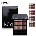 NYN Professional Eye Shadow Palette 9 Colors Naked Palette Long Lasting Eyeshadow Matte Smoky Eyes Earth Color Nude Sombras