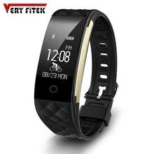 Смарт-браслеты S2 Bluetooth smart Сердечного ритма Мониторы Водонепроницаемый Спорт SmartBand браслет для Android IOS трекер