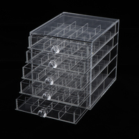 100 Grids Storage Container for Organizing Nail Glitters Powder Beads False Nails Jewelry Arts & Crafts