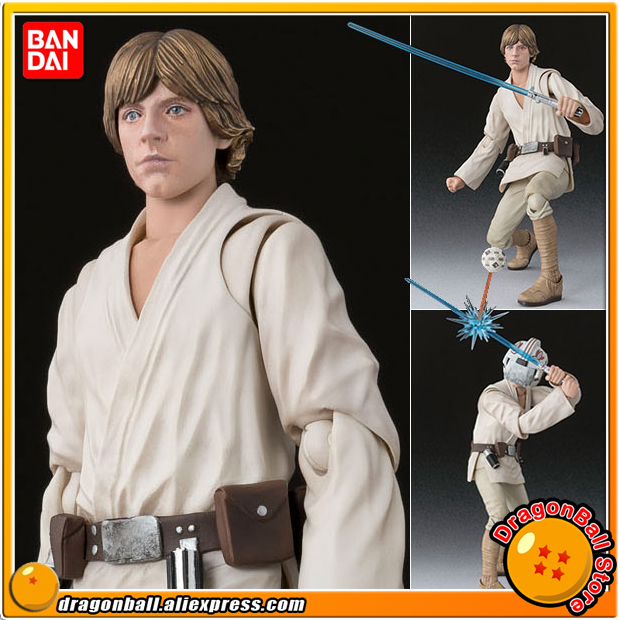 StarWar Original BANDAI Tamashii Nations S.H.Figuarts / SHF Action Figure - Luke Skywalker (A NEW HOPE)