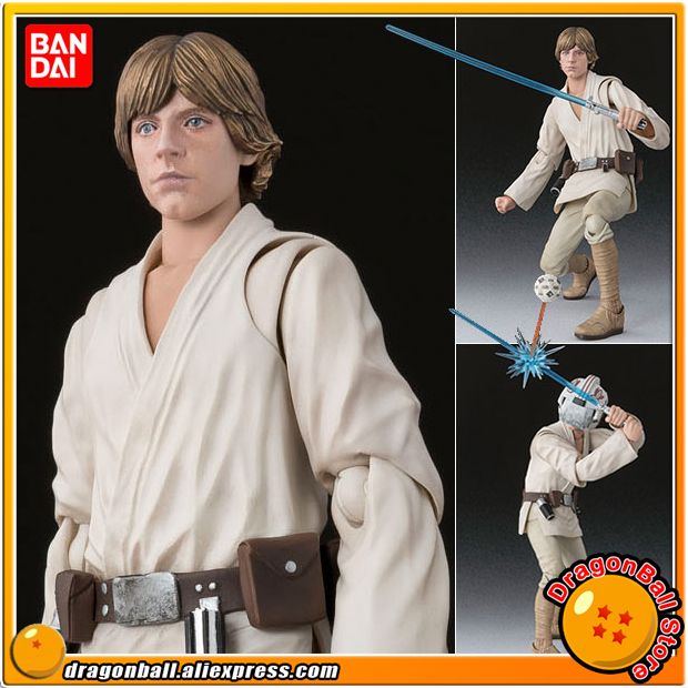 """StarWar"" Original BANDAI Tamashii Nations S.H.Figuarts / SHF Action Figure - Luke Skywalker (A NEW HOPE)"