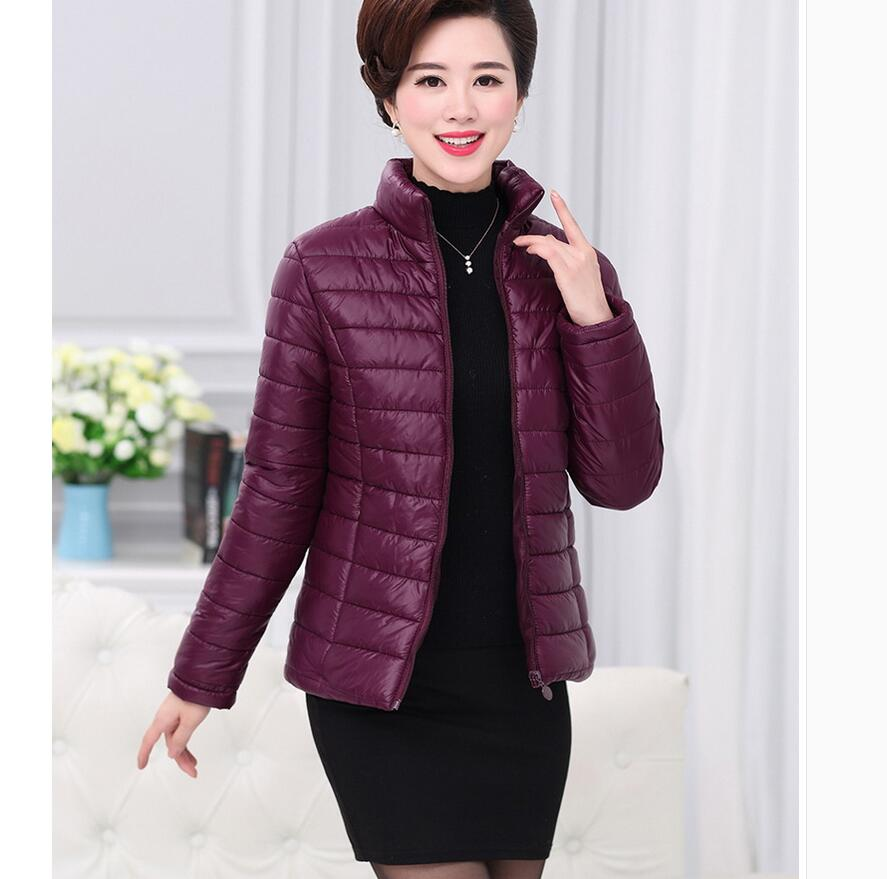 2017 autumn and winter thin thermal wadded jacket women's short design casual outerwear stand collar slim small wadded jacket stylish no bang heat resistant synthetic mixed color long shaggy wavy lace front wig for women