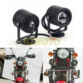 Pair Motorcycle Headlight LED Work Light Spot Offroad Driving Foglight Laser Motorcycle Car Truck Auxiliary Lamp