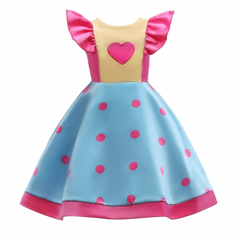 Girls Love bow Dress Princess Tailing Party Dresses for Kids 3-10 Years birthday Costumes Children fashion christmas dress girls party accessories children s halloween costumes for girls party dress kids cute birthday dresses