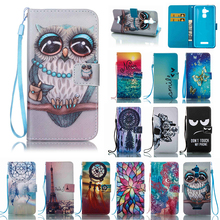Fashion Coque For ASUS Zenfone 3 Max ZC520TL Book style Folio Wallet Magnet Card Slot Phone Cases For ASUS Zenfone 3 Max ZC520TL