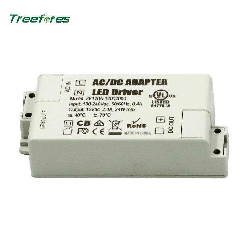 DC 12 Volt Power Supply 12V <font><b>LED</b></font> <font><b>Driver</b></font> 6W <font><b>12W</b></font> 15W 24W 30W AC 110V 220V to 12V Lighting <font><b>Transformer</b></font> Adapter for <font><b>LED</b></font> Lights image