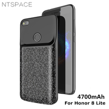 NTSPACE 4700mAh Back Clip Battery Charger Case For Huawei Honor 8 Lite Ultra Slim Power Bank Cover