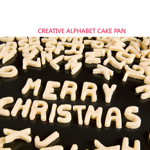 Image 5 - מטבח כלים 26 אותיות ופל תבניות עוגה/שוקולד/עוגיות ולחם 430 נירוסטה מתכת אפיית בישול עובש