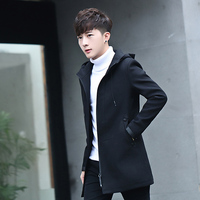 Winter New Color Men S Long Jackets Fashion Business Men Casual Jacket Slim And Comfortable Clothing