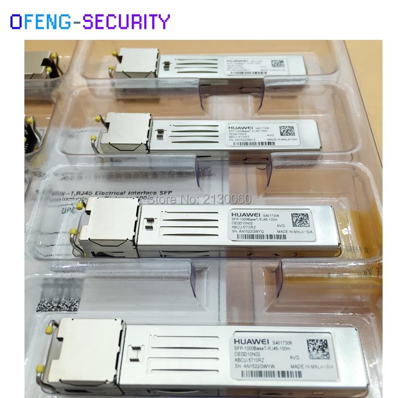 все цены на Huawei SFP Module SFP-1000BASE-T-RJ45-100m SFP-1000BaseT онлайн