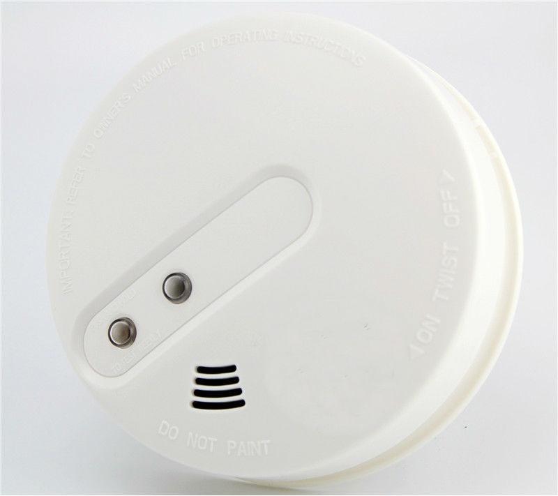 SmartYIBA Battery Powered 433MHz Wireless Smoke Sensor Detector Alarm For Alarm System