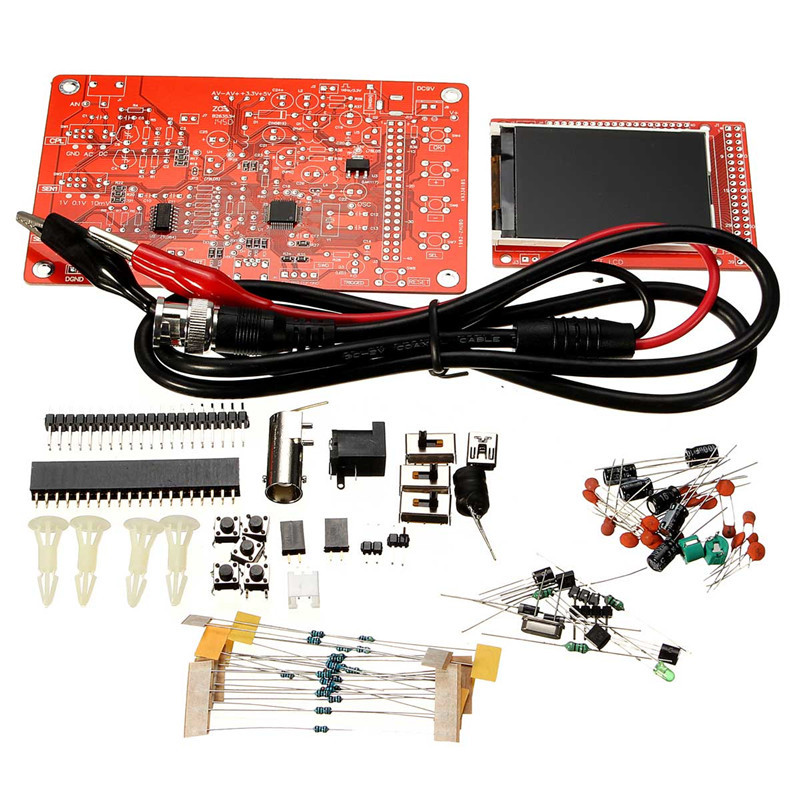 Best Combination DIY Digital Oscilloscope Electronic Learning Kit Educational For Kids And ChildrenBest Combination DIY Digital Oscilloscope Electronic Learning Kit Educational For Kids And Children