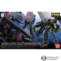 OHS Bandai RG 24 1/144 Gundam Astray Gold Frame Amatsu Mina MBF P01 Re2 Mobile Suit Assembly Model Kits oh
