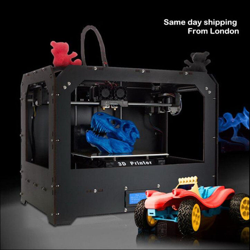 3D Printer - Dual Extruder - MK8 - Factory Direct Lowest Price- ABS/PLA цена