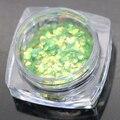 12 colores 1 g/caja de Escamas de Pescado Escamas de Colores Iridiscentes Shifting Escamas Lentejuelas Brillo de Uñas Decoración Del Arte Del Clavo de Manicura DIY
