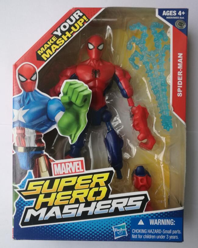 6 inch Super Hero Spider Man Action Figure Classic Toys For Boys Children Kids Birthday Gift краски гуашевые 6 цв 10мл spider man classic