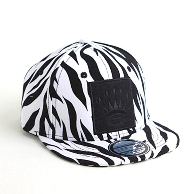 Fashion Kids 1-4Years Boys Girls Cool Hats Snapbacks Cotton Leopard Toddlers Baby Baseball Caps