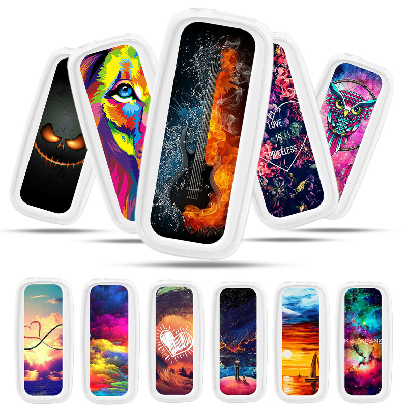 Bolomboy Painted <font><b>Case</b></font> For <font><b>Nokia</b></font> <font><b>105</b></font> <font><b>2017</b></font> <font><b>Case</b></font> Silicone Soft TPU <font><b>Cases</b></font> For <font><b>Nokia</b></font> <font><b>105</b></font> <font><b>2017</b></font> TA-1010 Cover Wildflowers Cute Animal image