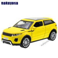 1 32 New Style Colletible Alloy Toy Cars For Boys Children 4 Colors SUV Land Rover