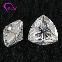 Wholesale price trillion moissanite 0.4 carat 4.5 mm D color lab grown for bracelet ring chain earring from Provence jewelry