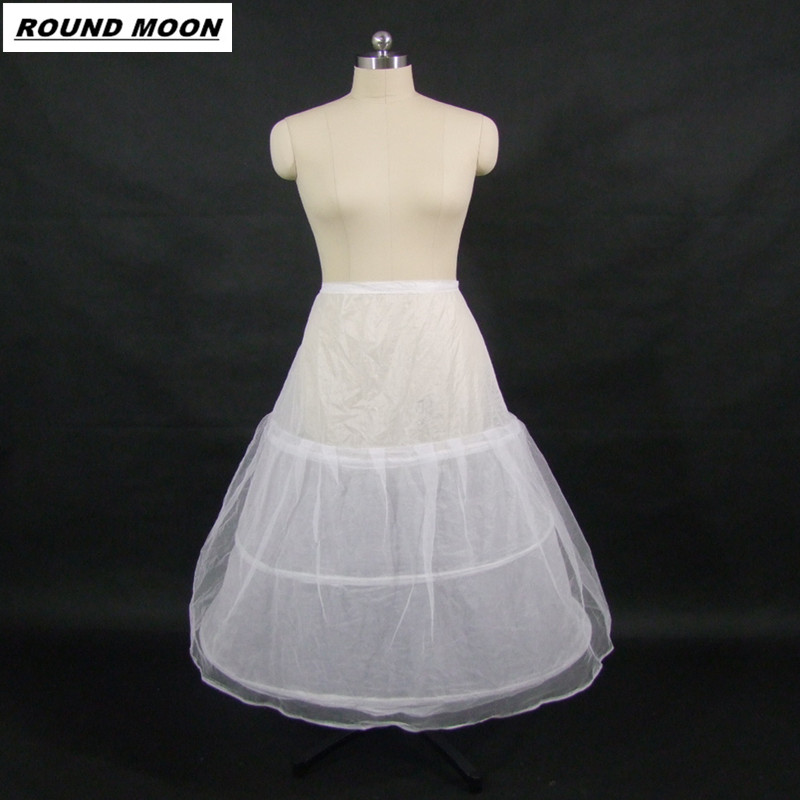 Cheap Wedding Formal Dress Pannier Yarn 3 Wire 1 Hard Network Petticoat Petticoats