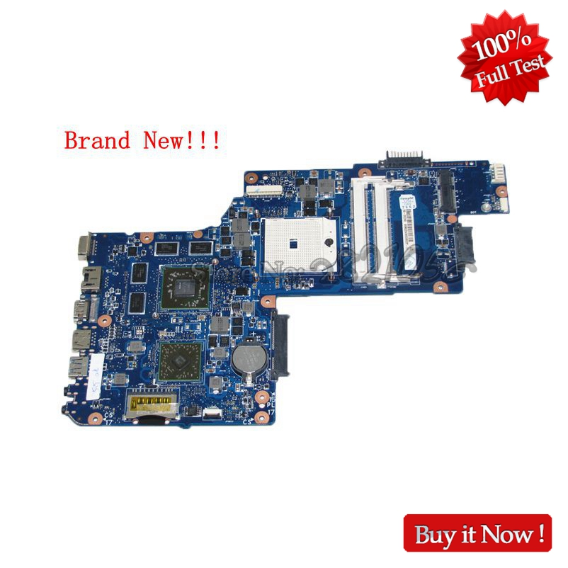 NOKOTION Brand New Laptop Motherboard For Toshiba Satellite C855 C855D L850D C850 H000051780 Main Board HD7670M nokotion brand new qcl00 la 8241p cn 06d5dg 06d5dg 6d5dg for dell inspiron 15r 5520 laptop motherboard hd7670m 1gb graphics