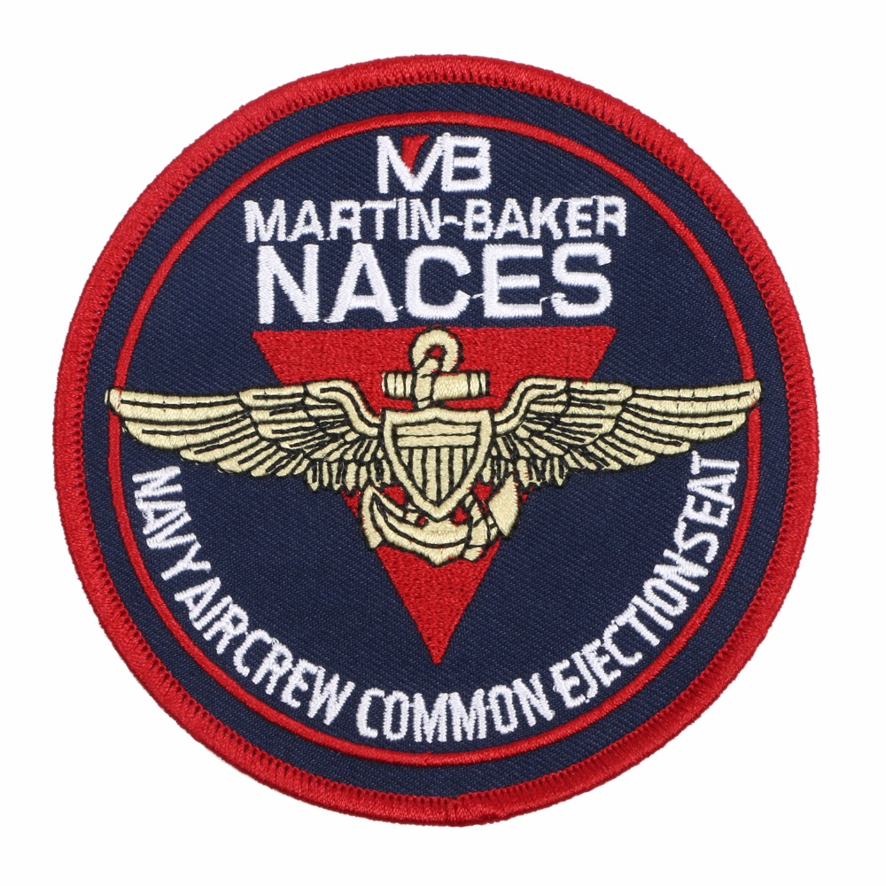 NACES MARTIN-BAKER NAVY AIRCREW COMMON EJECTIONSEAT BADGE PATCH
