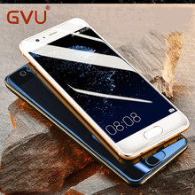 GVU 9H 0.26mm Premium Tempered Glass For Huawei Ascend P6 P7 P8 Lite P9 Lite Screen Protector Protective Film For Huaiwe Mate7 8