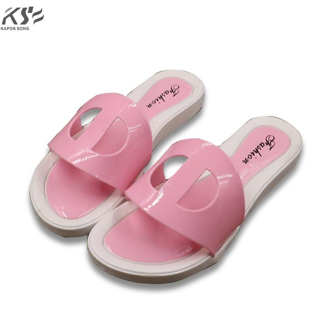 6cd076c35 2017 summer H slipper women jelly shoes transparent crystal comfortable  ventilation shoes sexly luxury brand designer flats lady