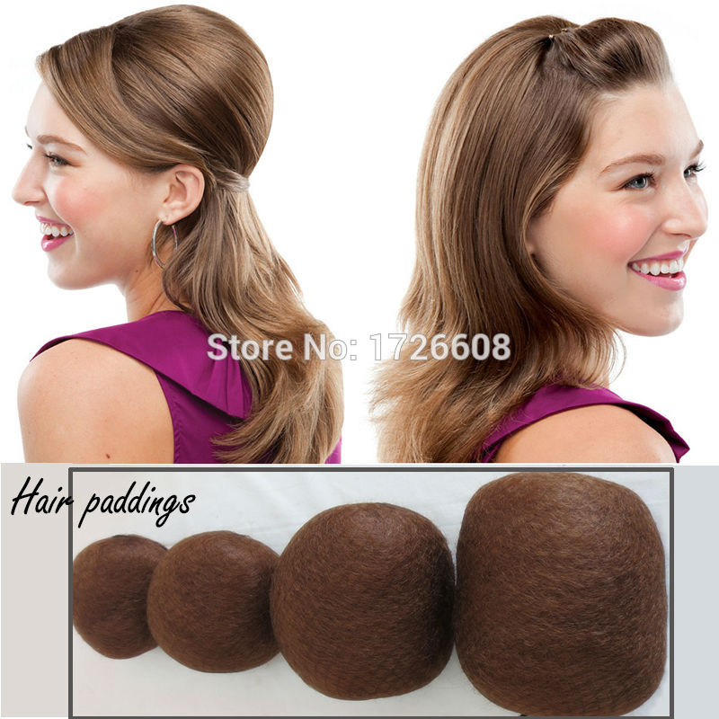 Synthetic Round Hair Padding Extra Volume Updo Ex Large Voluminous Insert Updos Hairpieces Create Bulky Voluminous Hairstyles χτενισματα