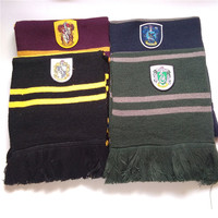 Magic School Harri Potter Scarf Gryffindor Slytherin Hufflepuff Ravenclaw Scarf Scarves Cosplay Costume Suit For Gift