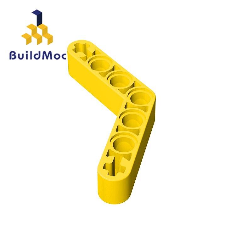 BuildMOC Compatible Assembles Particles 32348 1x7(4x4)For Building Blocks Parts DIY LOGO Educational Tech Parts Toys